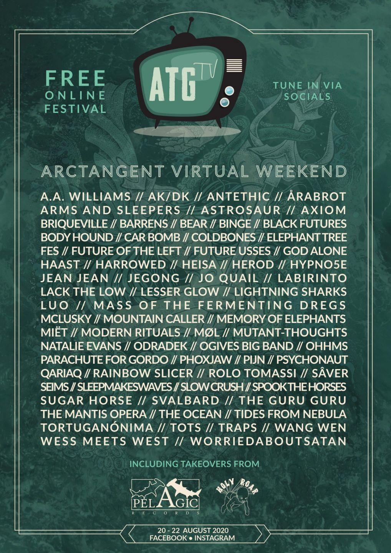 ArcTanGent online progfestival