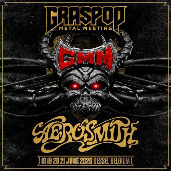 Aerosmith naar Graspop