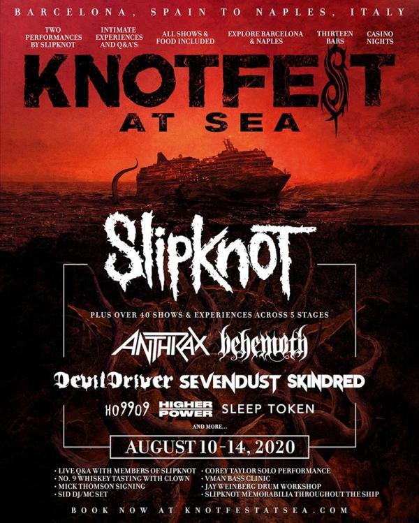 Slipknot begint eigen cruise