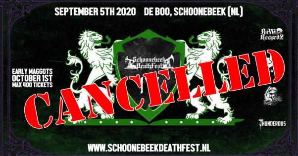 Schoonebeek Deathfest verzet naar volgend jaar