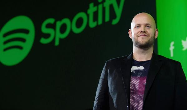 Spotify-baas haalt zich de woede van artiesten op de hals
