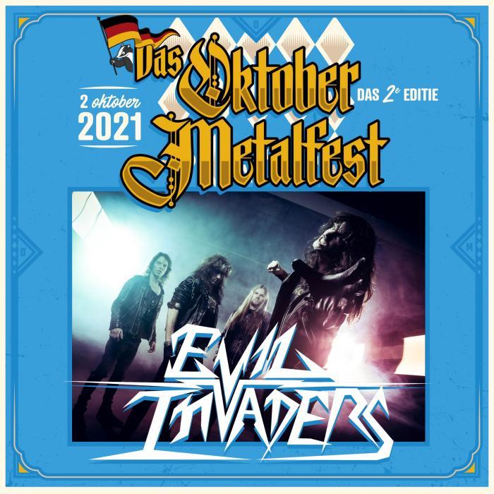 Evil Invaders naar Das Oktober Metalfest