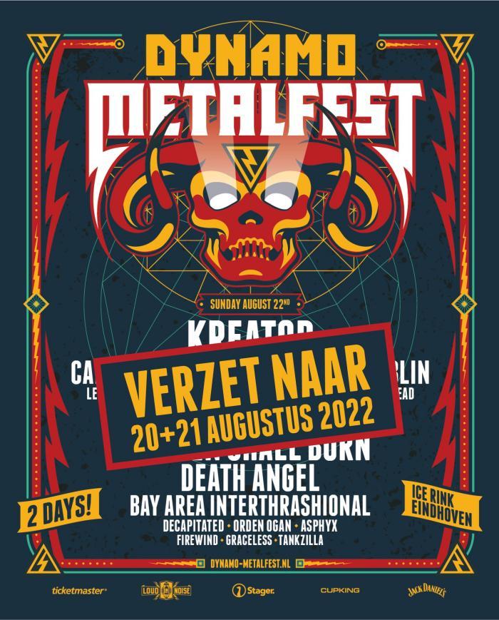 Dynamo Metalfest verplaatst naar 2022