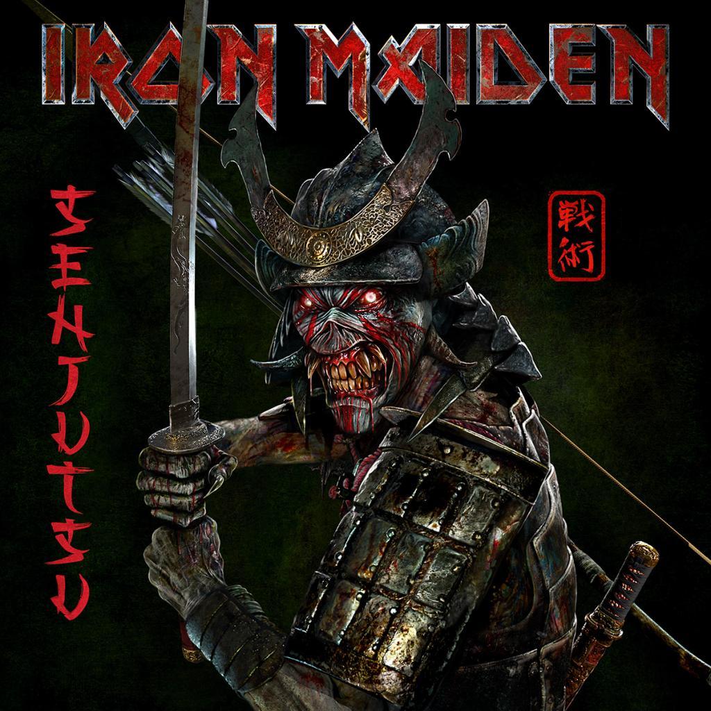 Het zeventiende studioalbum van Iron Maiden heet Senjutsu