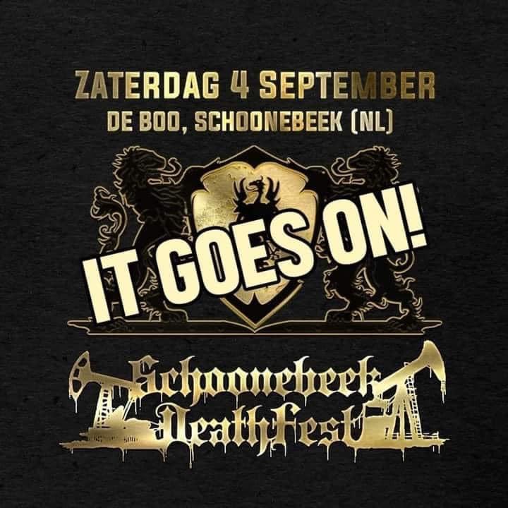 Schoonebeek Deathfest gaat door + Update