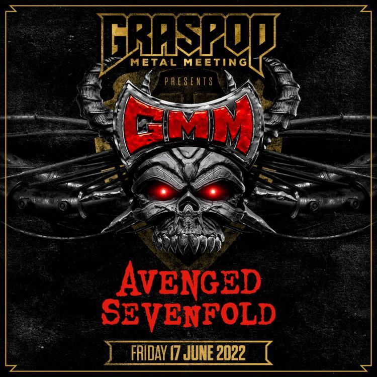 Avenged Sevenfold vierde headliner Graspop