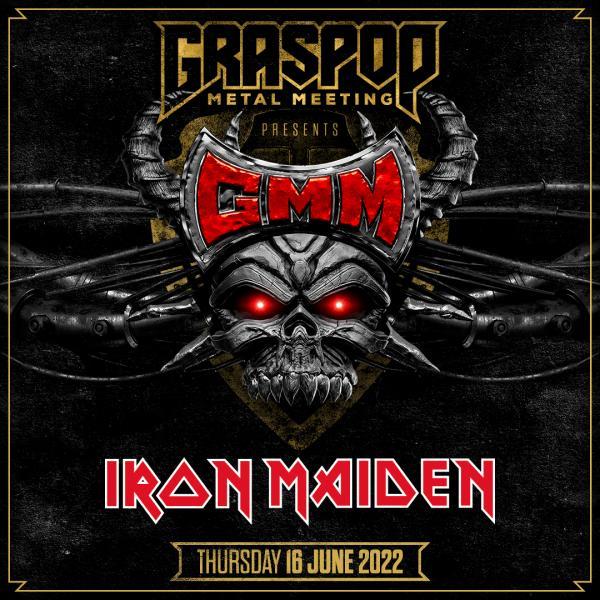 Iron Maiden volgend jaar weer naar Graspop
