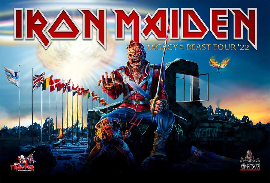 Nog meer zomerfestivals voor Iron Maiden