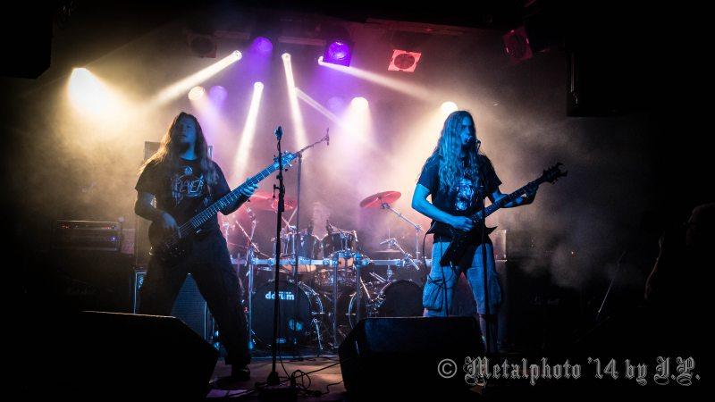 Bloodgod @ dB's, Utrecht, 7-8-2014