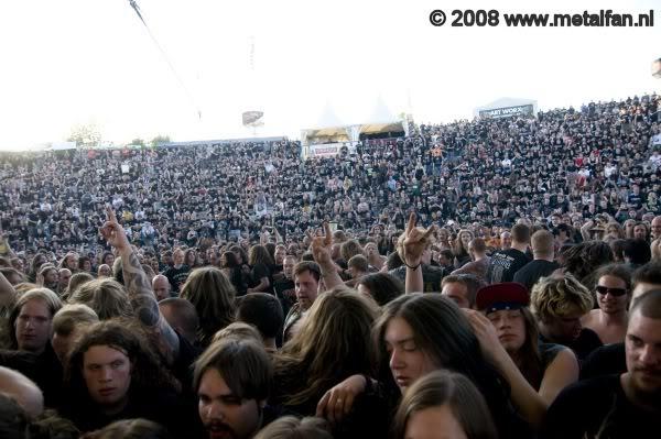 publiek @ Wâldrock 2008