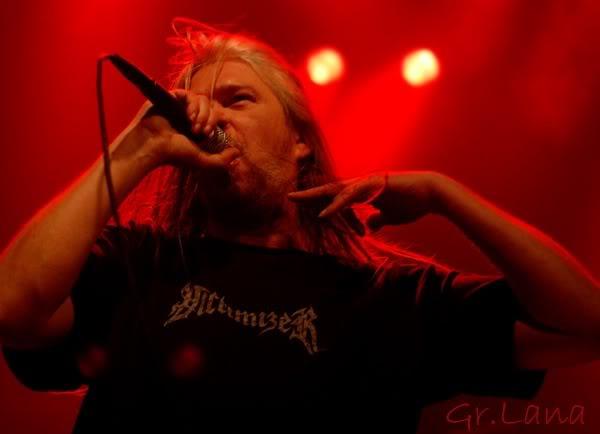 Hail Of Bullets @ Melkweg, Amsterdam, 21-12-2008