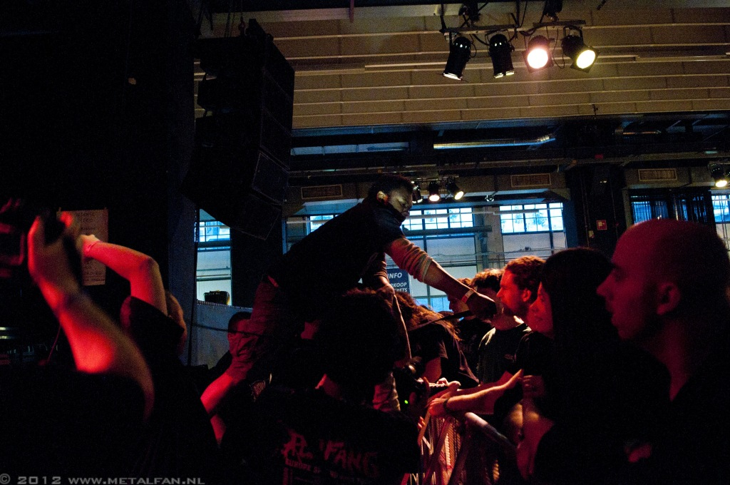 Leng Tch'e @ Distortion festival, 9-12-2012, Eindhoven