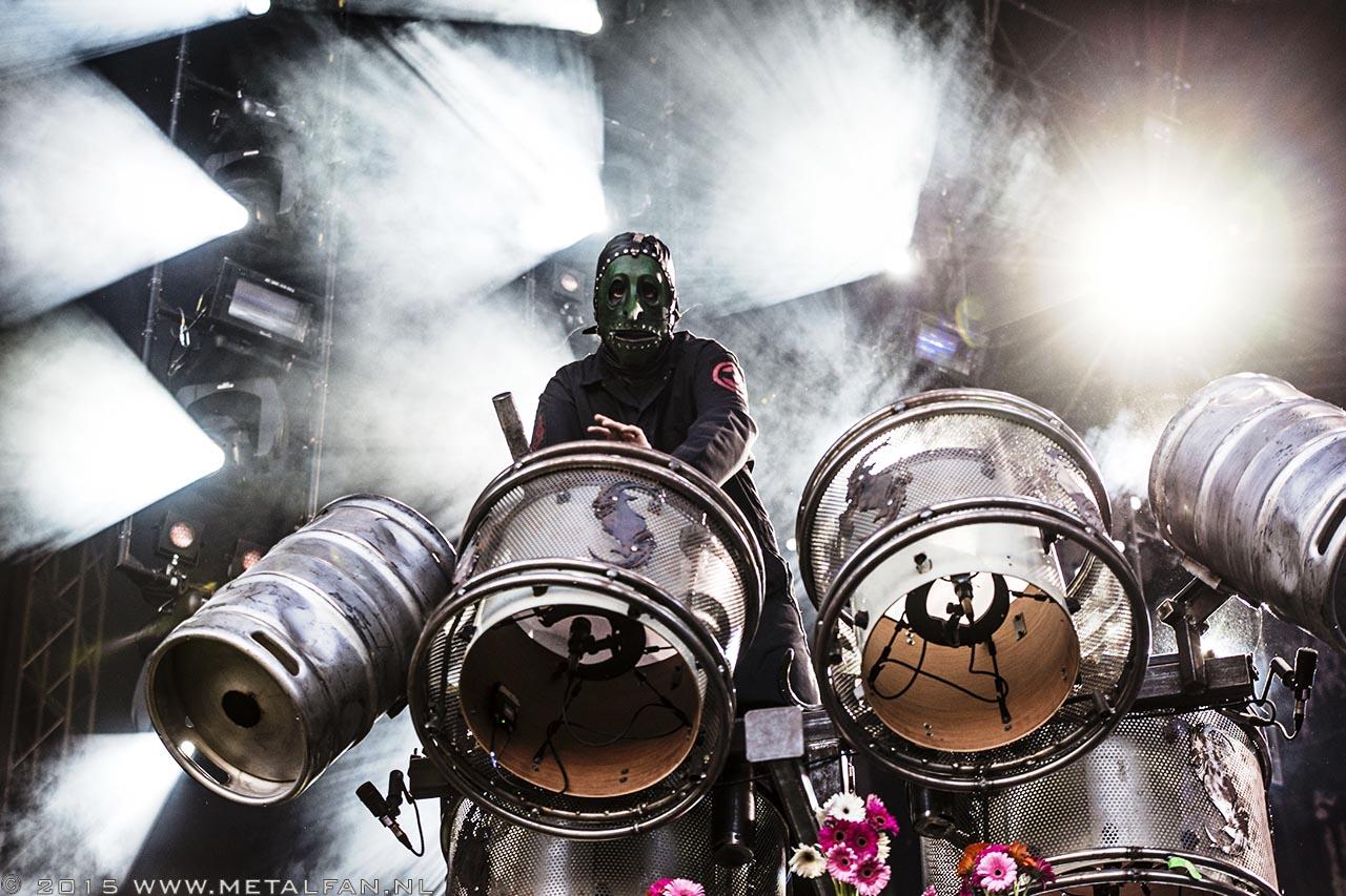 Slipknot @ FortaRock 2015. Foto door Tonnie Westerbeke.