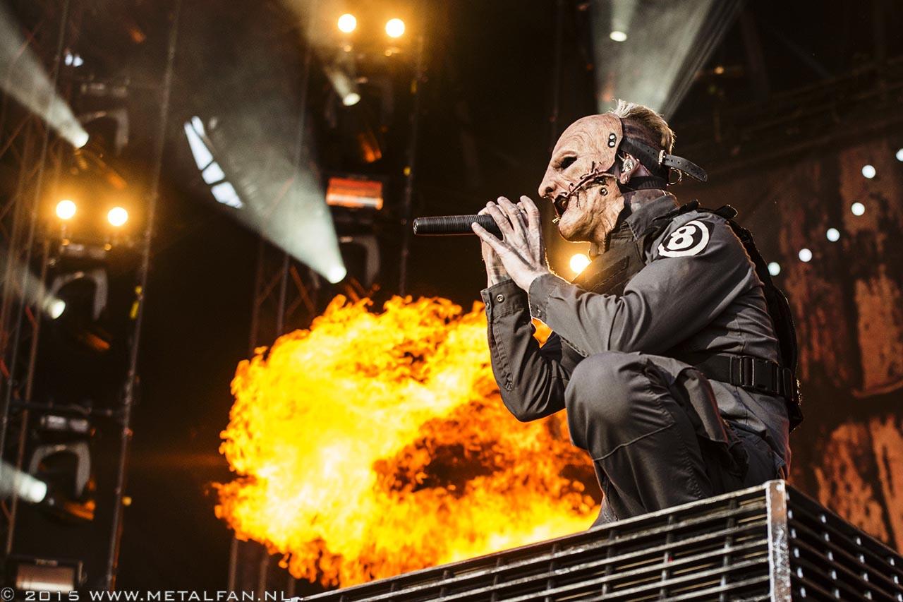Slipknot @ FortaRock 2015