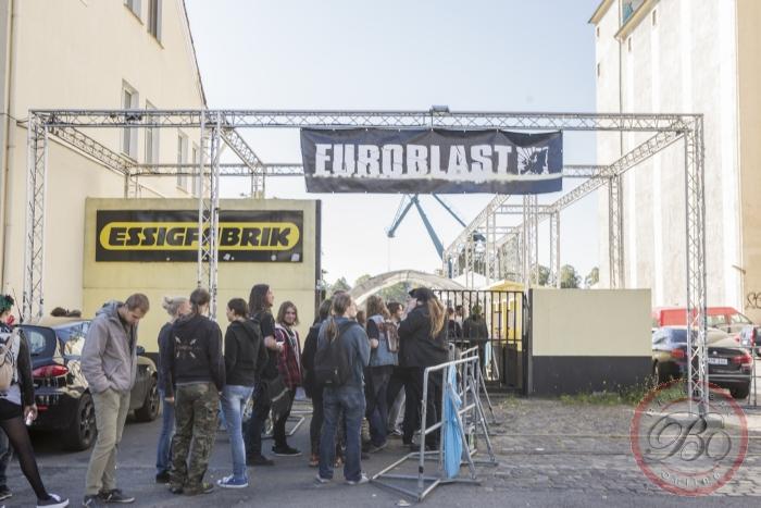 Sfeer @ Euroblast 2015, Essigfabrik, Keulen, 01/02/03-10-2015
