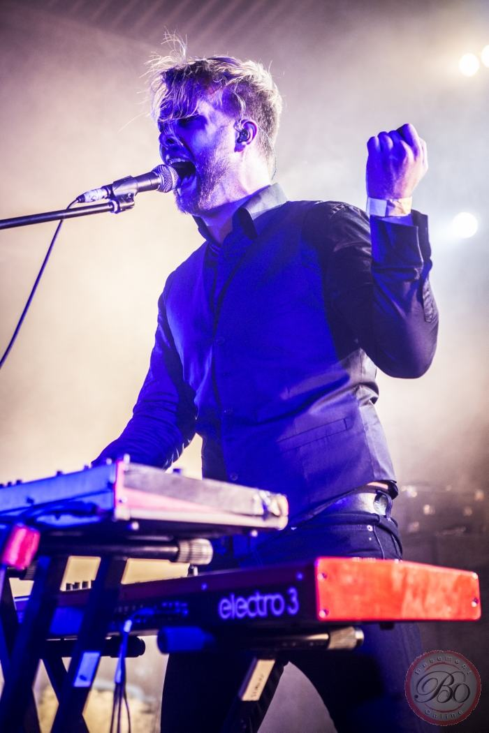 Leprous @ UK Tech-Fest, Newark-On-Trent, 10-07-2015