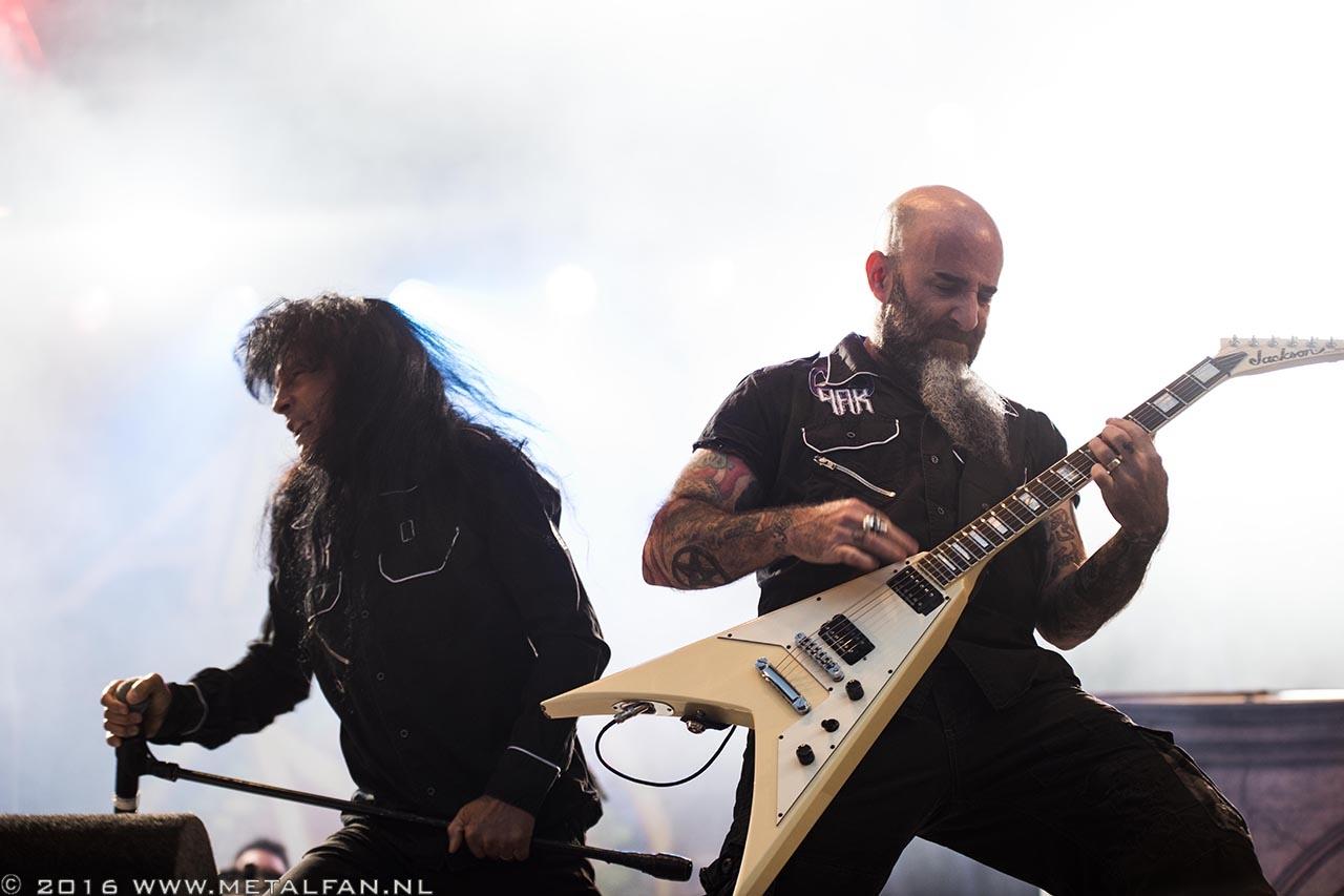 Anthrax @ Dynamo Metal Fest 2016. Foto door Tonnie Westerbeke