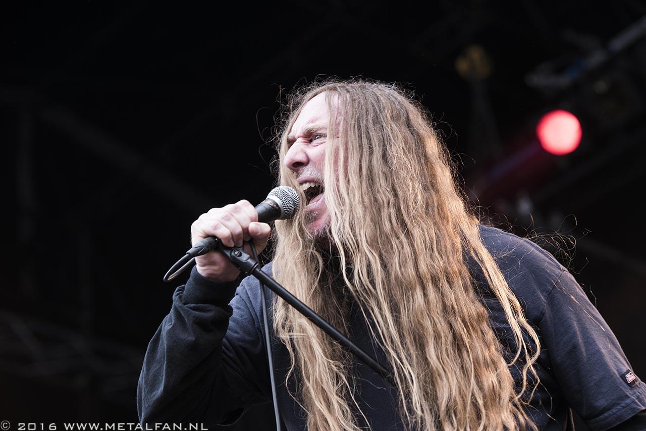 Obituary @ Dynamo Metal Fest 2016. Foto door Tonnie Westerbeke