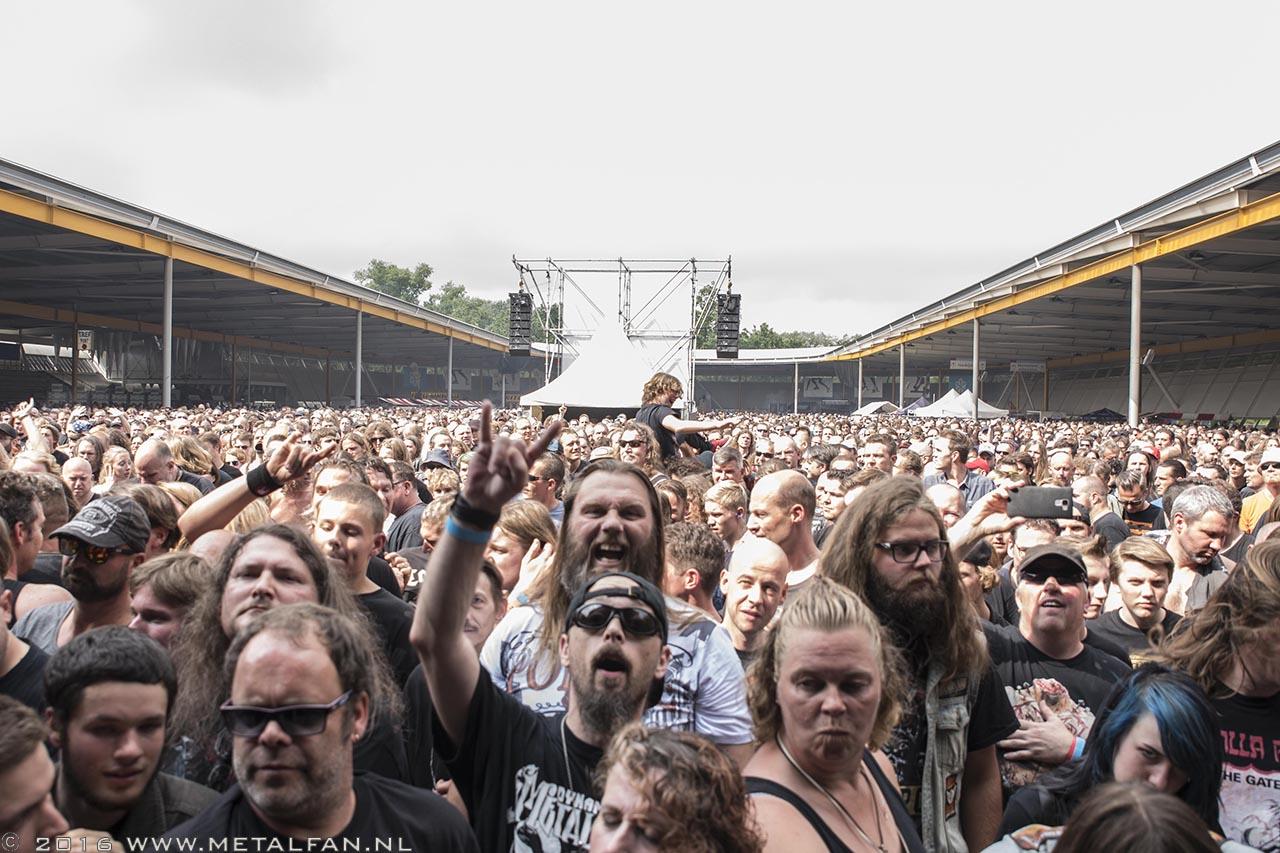 Dynamo Metal Fest 2016. Foto door Tonnie Westerbeke