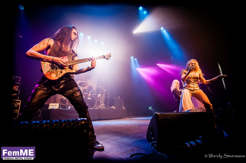 Kobra And The Lotus @ Female Metal Event 2016, 24 september 2016