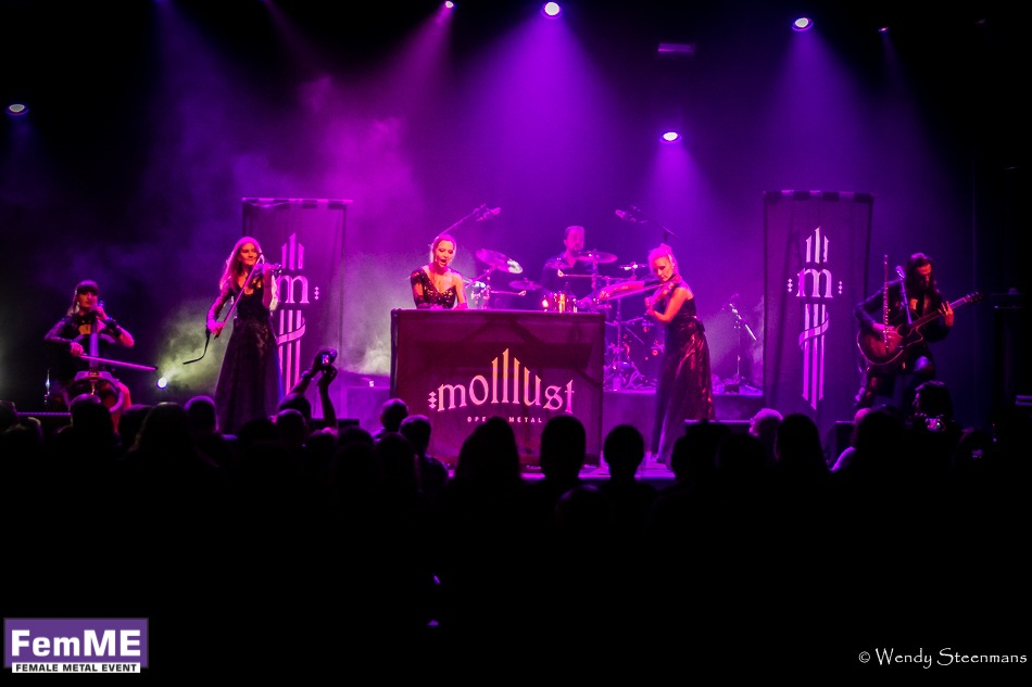Molllust @ Female Metal Event 2016, 23 september 2016