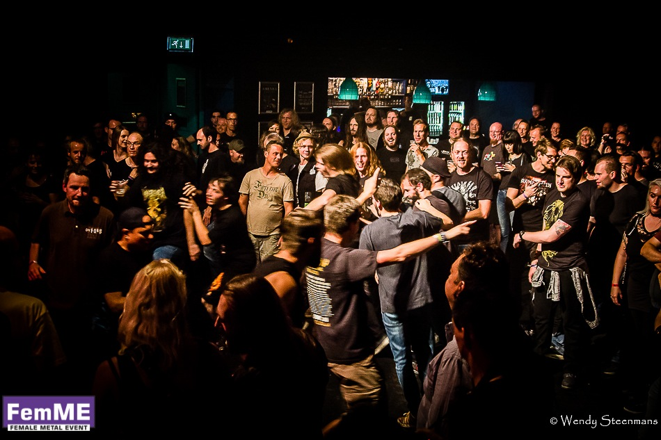 The Charm The Fury @ Female Metal Event 2016, 24 september 2016