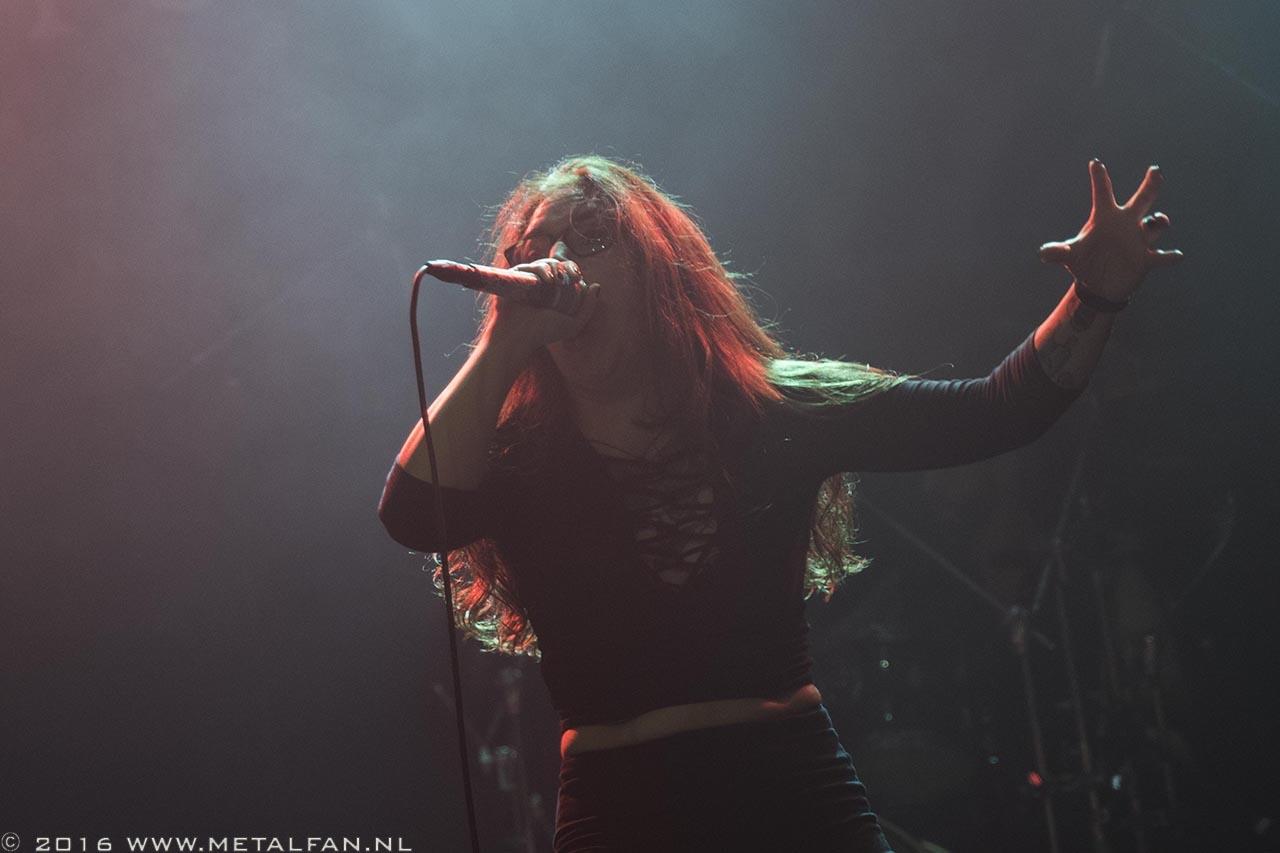 For I Am King @ Epic Metal Fest, 1-10-2016, Tilburg