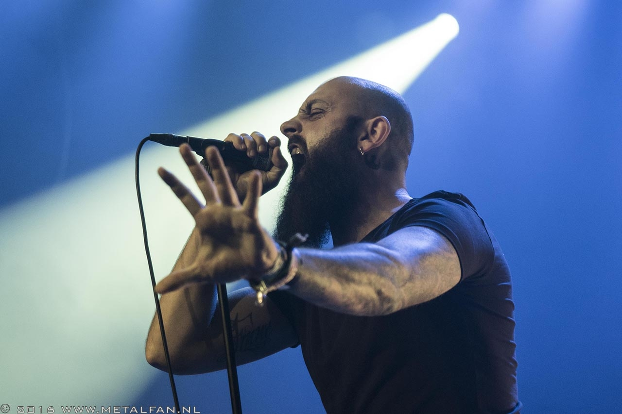 Off The Cross @ Epic Metal Fest, 1-10-2016, Tilburg
