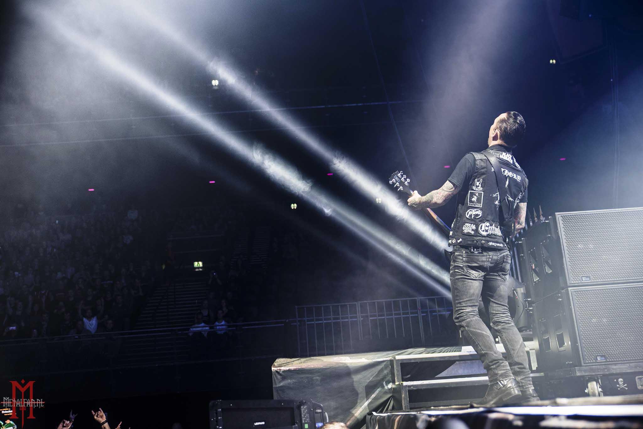 Volbeat @ Ziggo Dome, Amsterdam, 15-11-2016