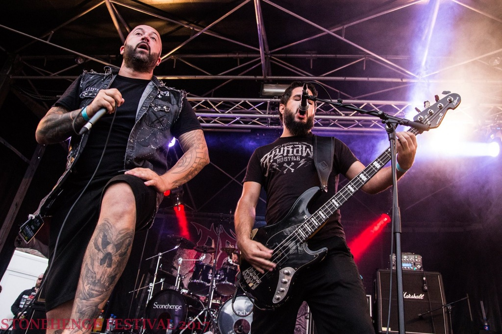 Benighted @ Stonehenge festival 2017