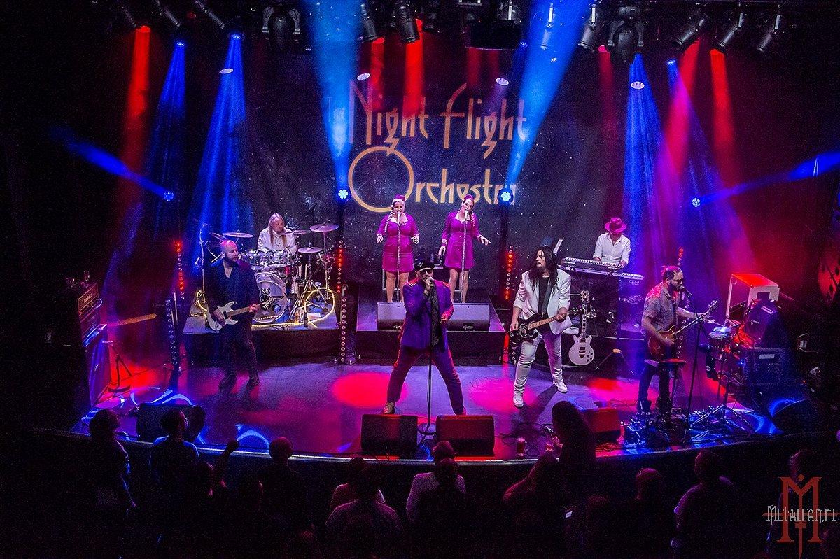The Night Flight Orchestra @ De Boerderij, Zoetermeer, 25-11-2018