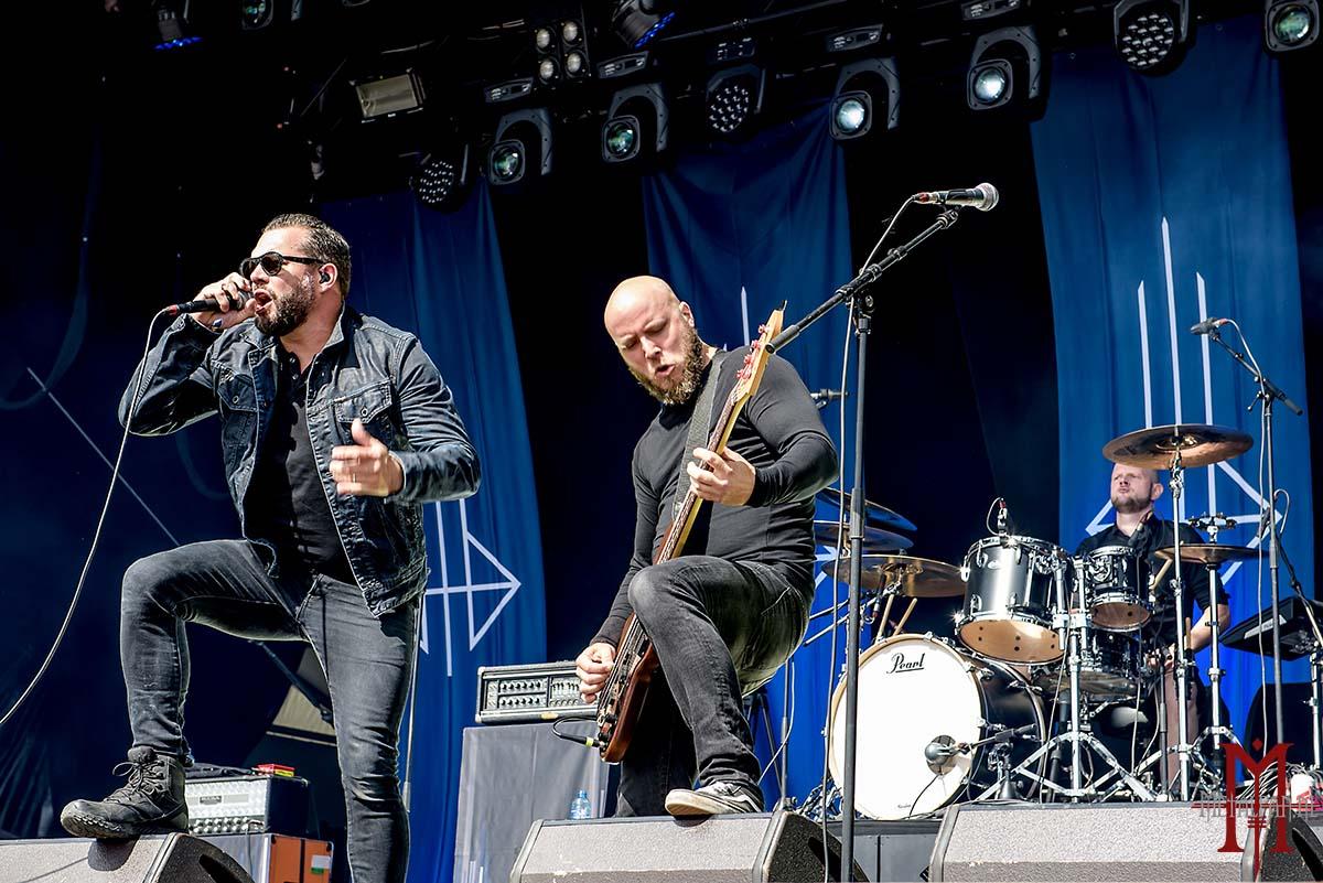 Diablo Blvd. @ Alcatraz Hard Rock & Metal Fest 2018. Foto door Dirk.