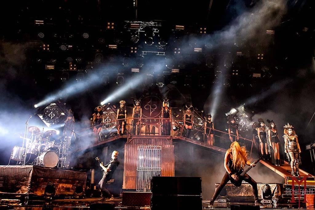 Brides Of Lucifer @ Alcatraz Hard Rock & Metal Fest 2018. Foto door Dirk.