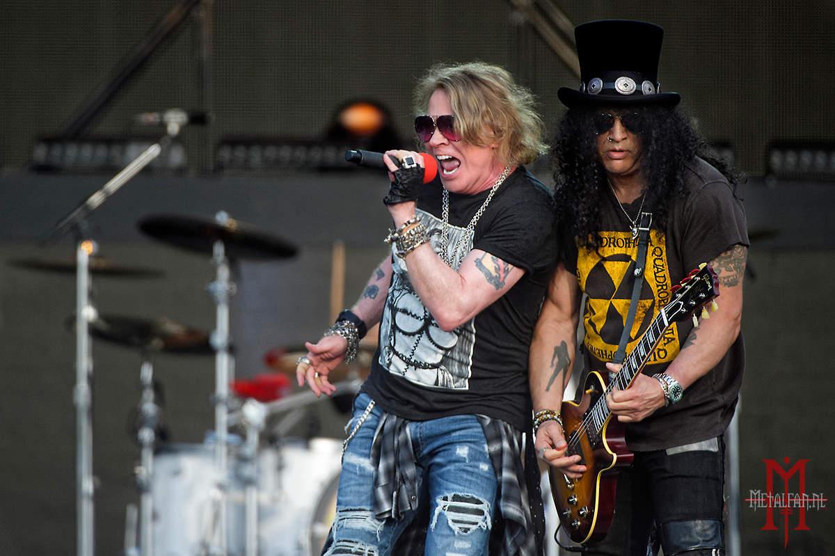 Nieuwe enquête: Hoe vaak heb jij Guns N' Roses live gezien?