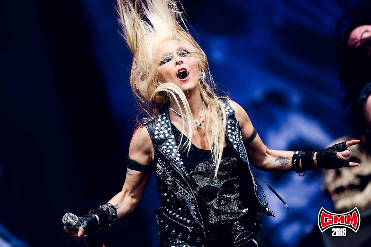 Doro @ Graspop Metal Meeting 2018. Foto door Tim Tronckoe