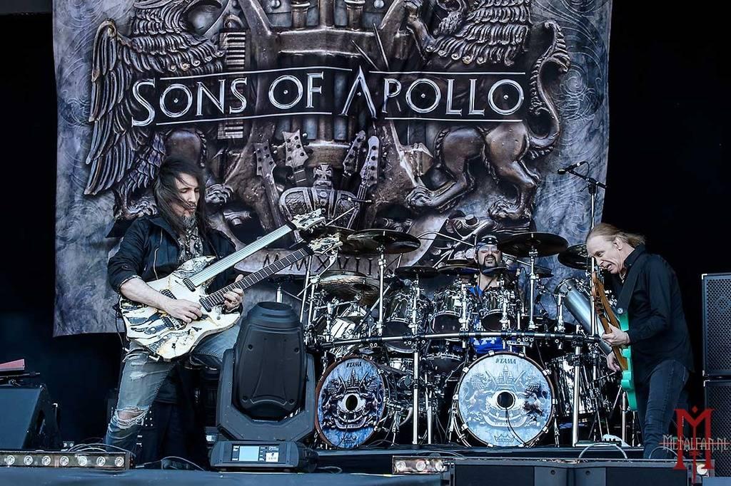 Sons Of Apollo @ Hellfest 2018
