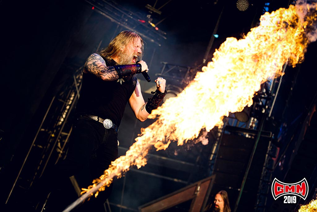 Amon Amarth @ Graspop Metal Meeting 2019. Foto door Tim Tronckoe