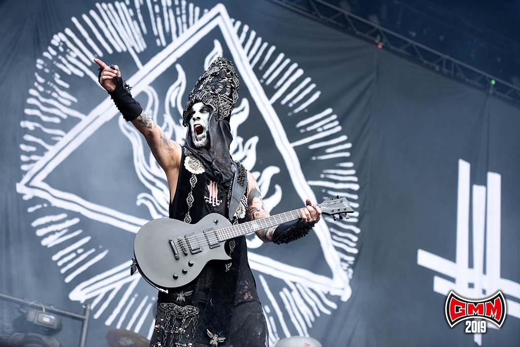 Behemoth @ Graspop Metal Meeting 2019. Foto door Rudy De Doncker