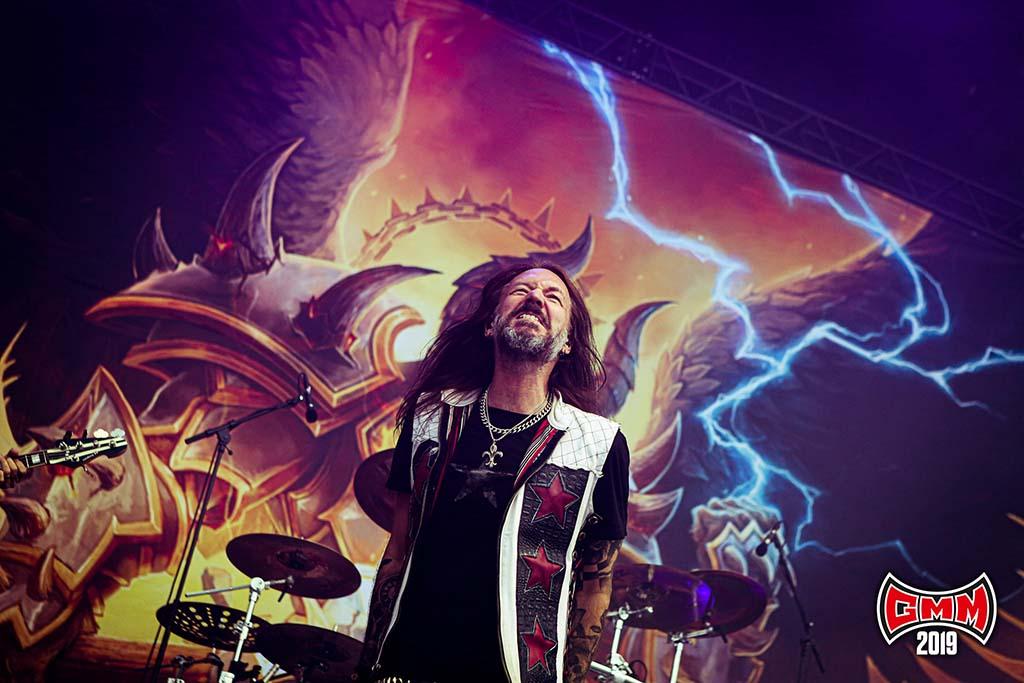 Hammerfall @ Graspop Metal Meeting 2019. Foto door Tim Tronckoe
