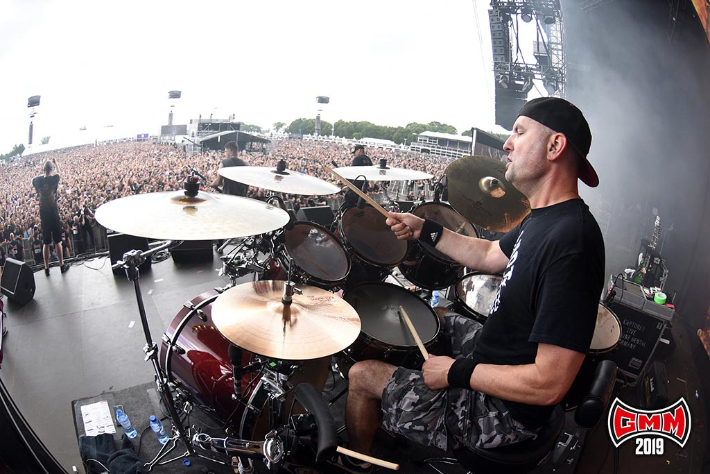 Hatebreed @ Graspop Metal Meeting 2019. Foto door Rudy De Doncker