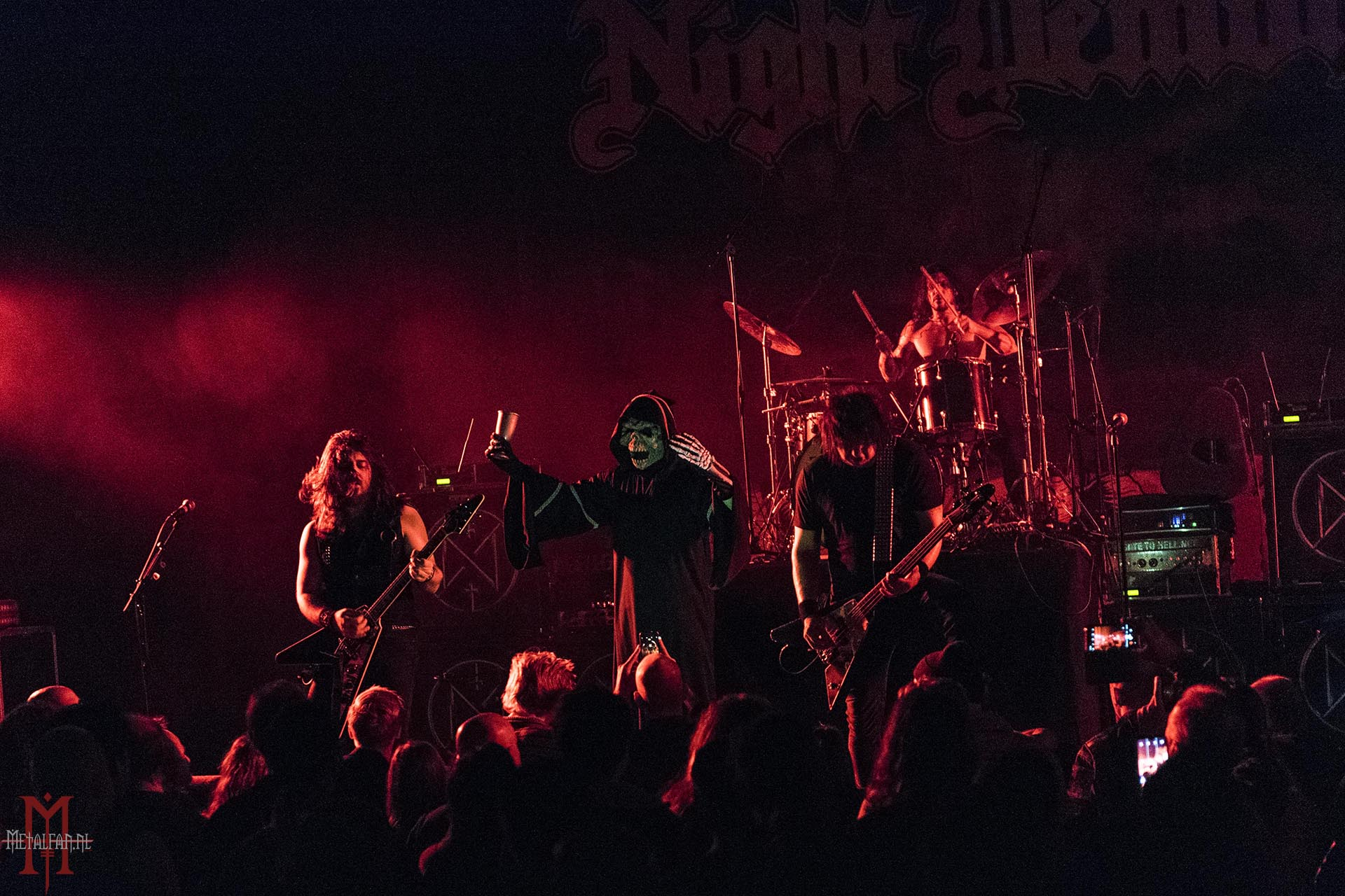 Night Demon @ Gebr. De Nobel, Leiden, 6-12-2019