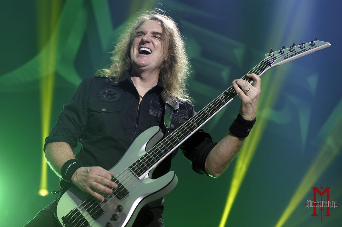 Megadeth houdt situatie bassist nauwlettend in de gaten