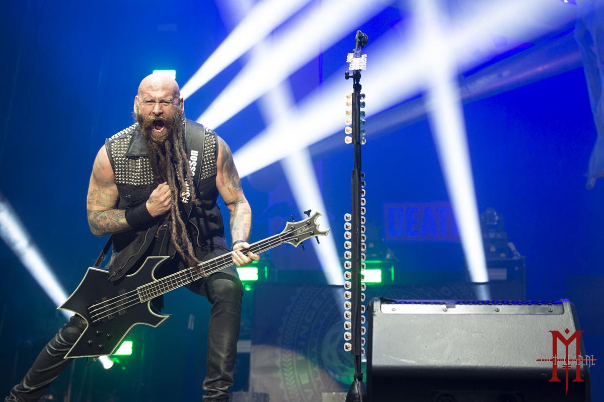 Five Finger Death Punch @ AFAS Live, Amsterdam, 26-1-2020