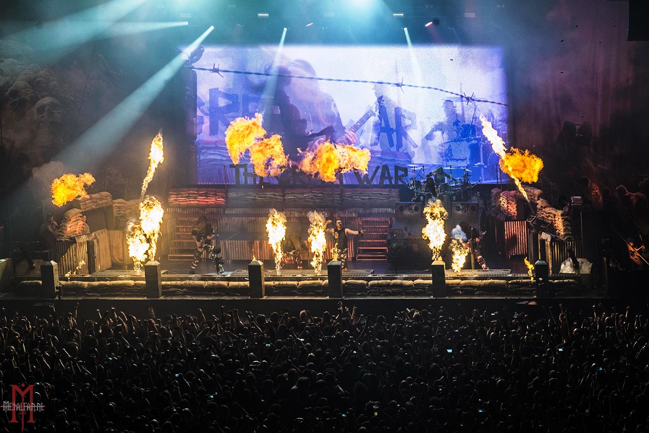 Sabaton @ AFAS Live, Amsterdam, 9-2-2020