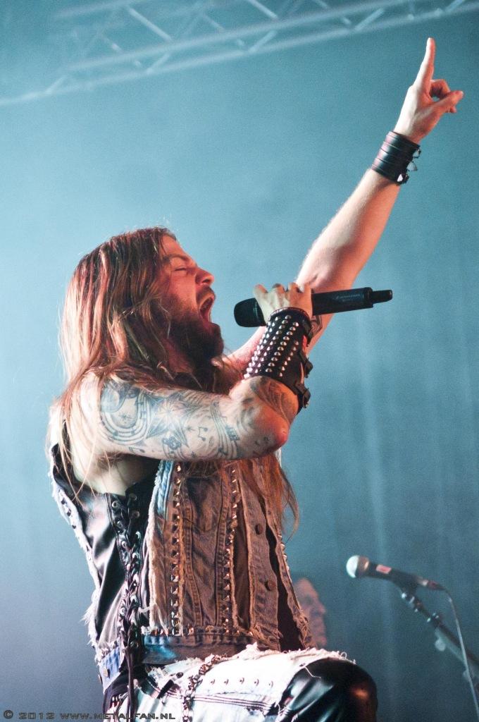 Iced Earth @ Alcatraz Metal Festival 2012