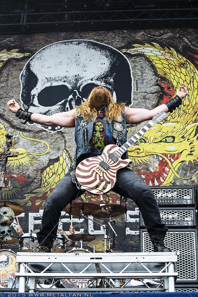 Black Label Society @ Bospop 2015