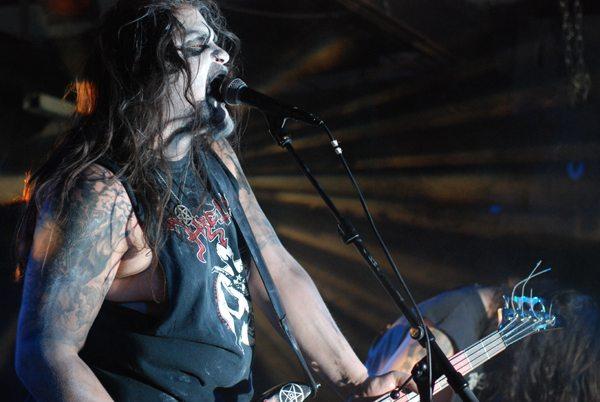 Darkmoon Warrior @ Black Metal Desecration 2010, Baroeg, Rotterdam