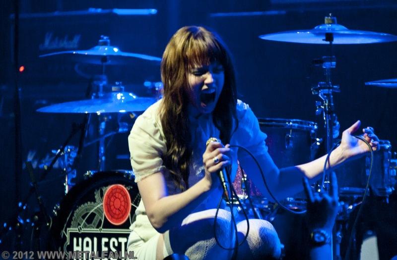Halestorm @ Paradiso, Amsterdam, 6-2-2012