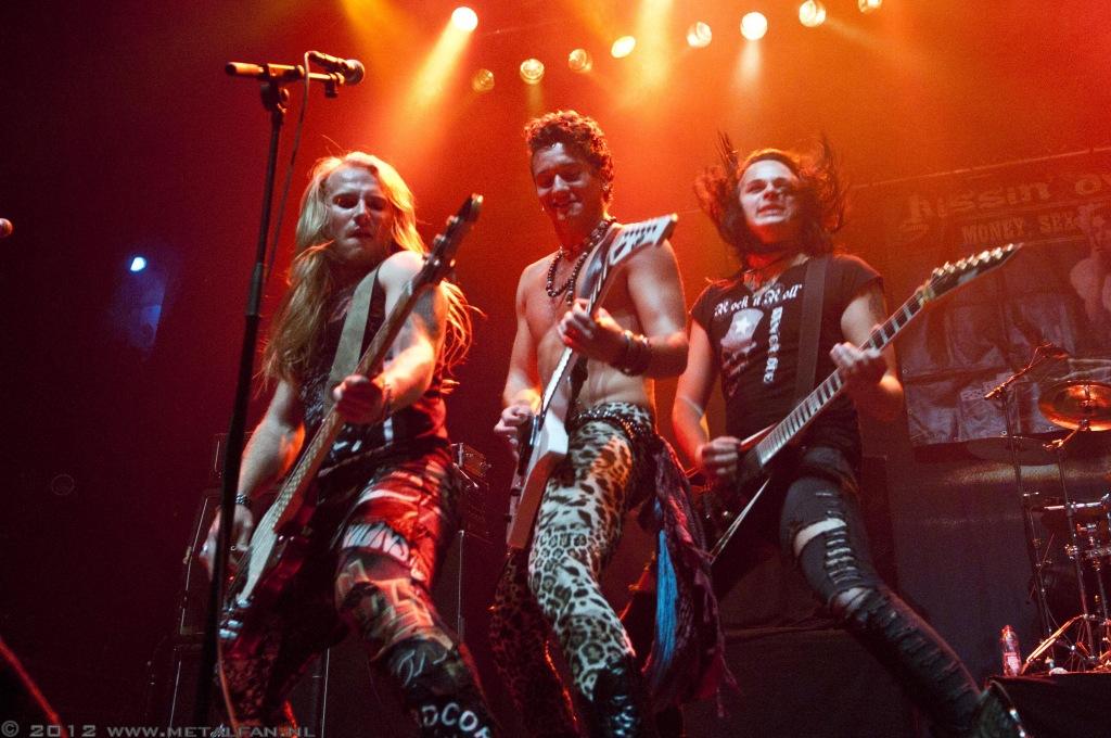 Kissin Dynamite @ 013, Tilburg, 9-10-2012
