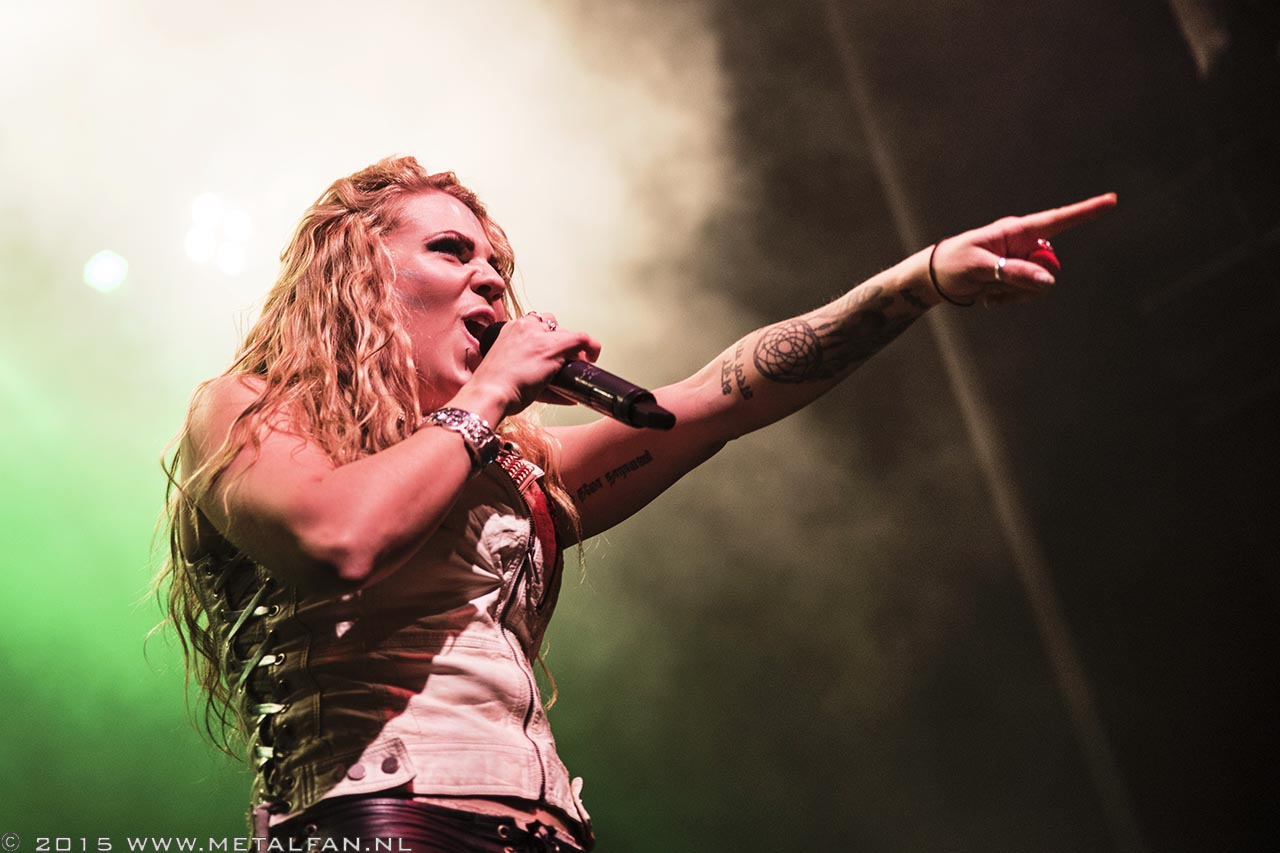 Kobra And The Lotus @ 013, Tilburg, 16-10-2015